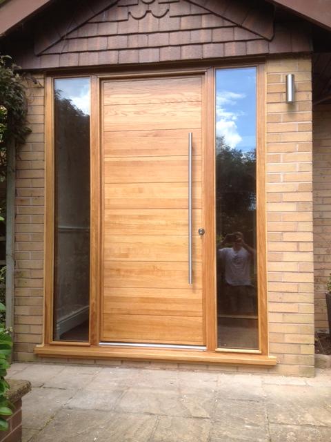 Oak Horizontal Boarded Door