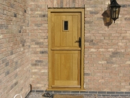 oak stable door