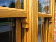 Idigbo hardwood sash window