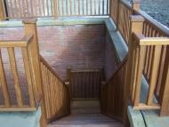 iroko stairs