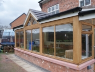 oak direct glazed